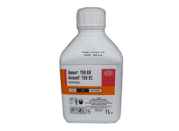 Препарат отличается токсичностью, не используют больше 2 раз в течение лета. Но на вредителей действует быстро и эффективно, причем на всех.
